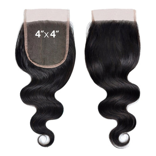 Body wave Lace closure 4*4