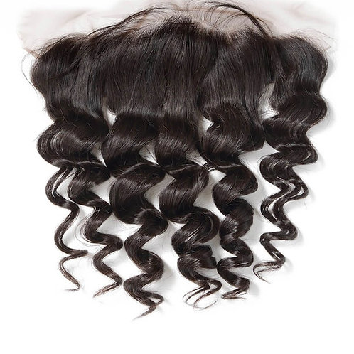 Loose curl lace frontal