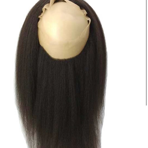 Kinky straight 360 Lace frontal