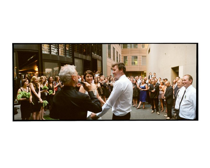 Melbourne back alley wedding