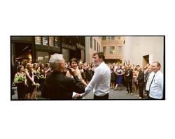 Melbourne back alley wedding