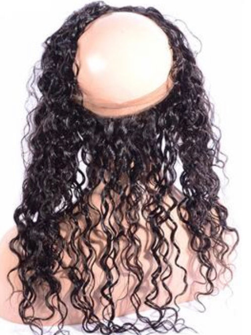 Water wave 360 Lace frontal
