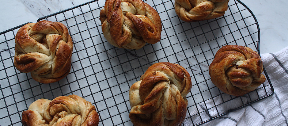 Swedish Cinnamon Cardamom Buns