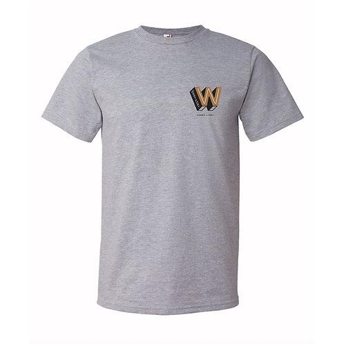 Crew neck T-Shirt - Grey