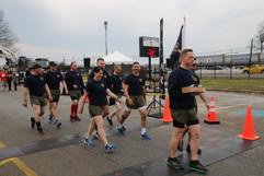 IMG_5672 Pre  Race Phila. Police Cadets.