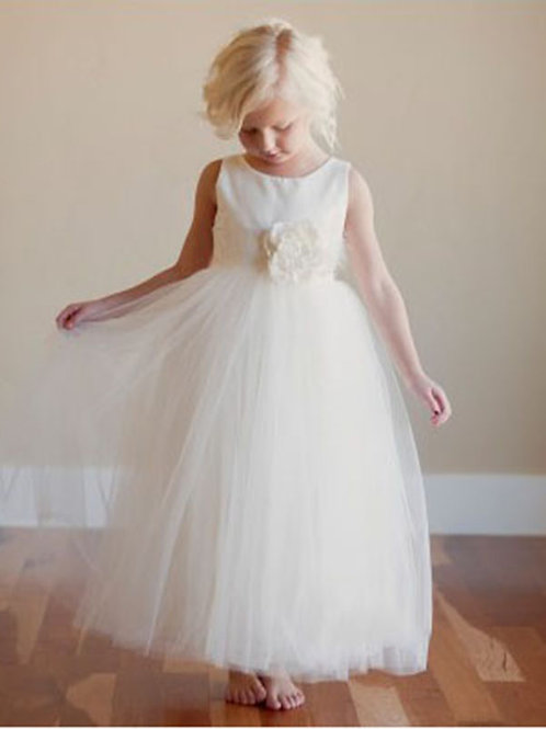 Flower girl dress 079