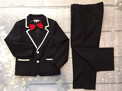 Suits with 3 pieces (Vest, Pants, Bow)
