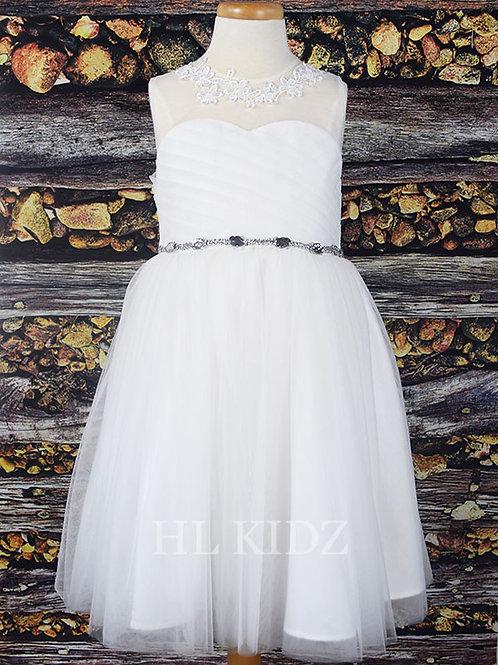 Luxury Dress 011_Ivory