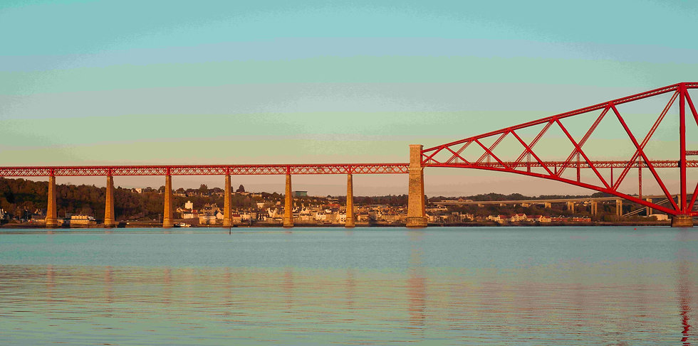 the forth bridge and south queensferry s