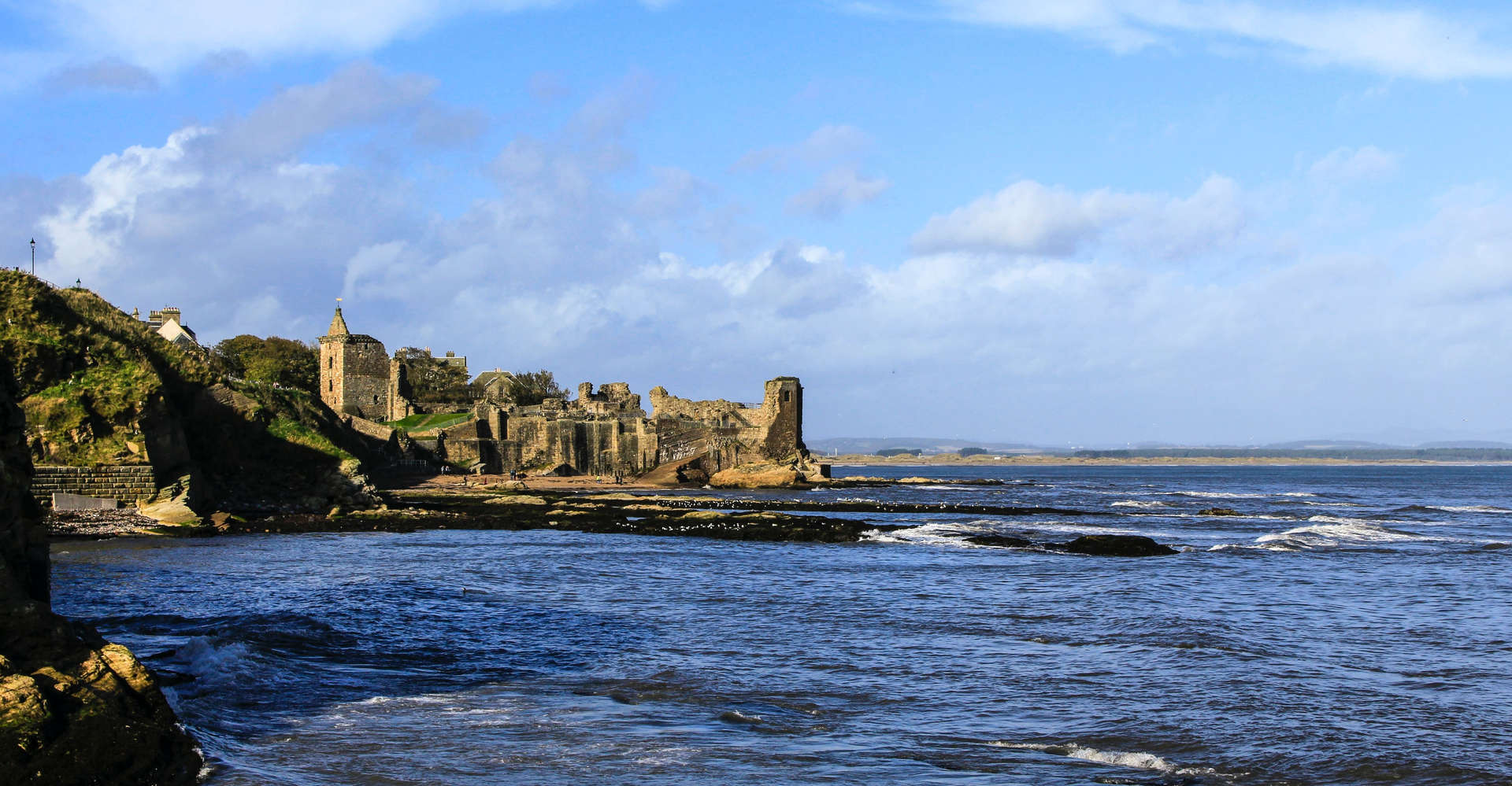 St Andrews Castle in scotland