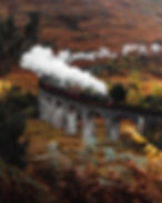 Jacobite Express Steam Train Glenfinnan