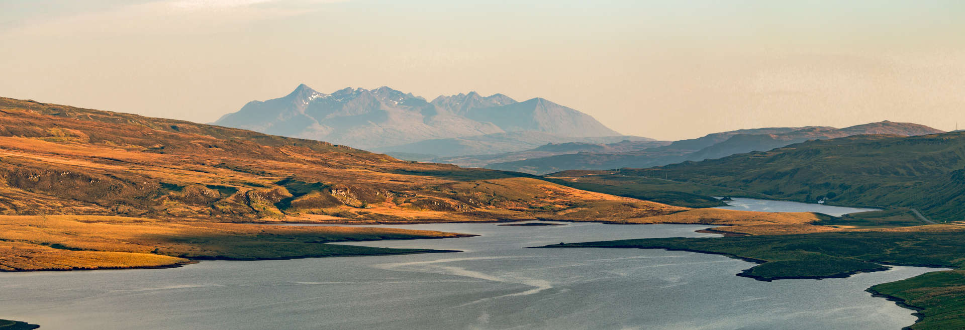 View of the Cuillin Mountains, Isle of Skye