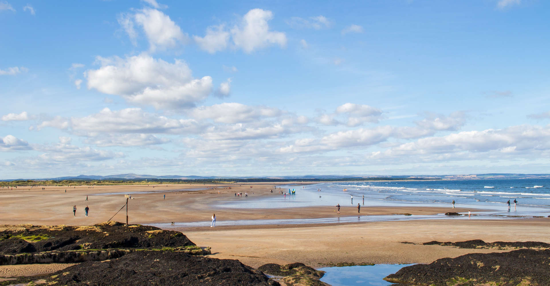 St Andrews Beach in scotland