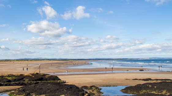 St Andrews Beach in scotland
