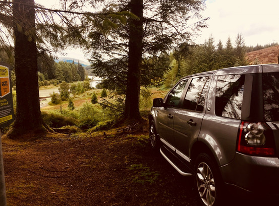 luxury private tour with scotlux in forest