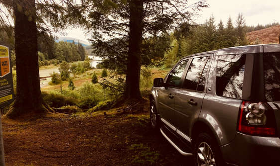 luxury private tour guide off road in forest
