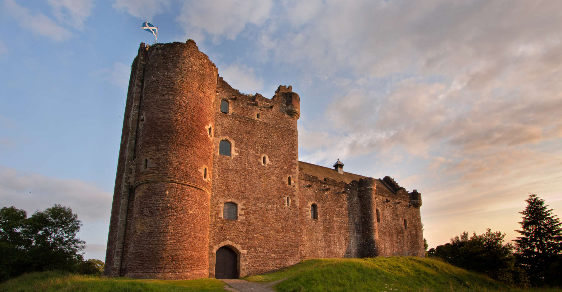 Doune Castle near Stirling, Scotland