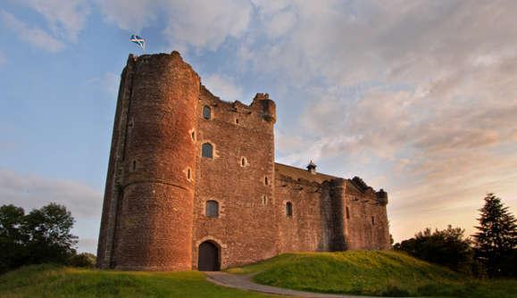 Doune Castle near Stirling, Scotland