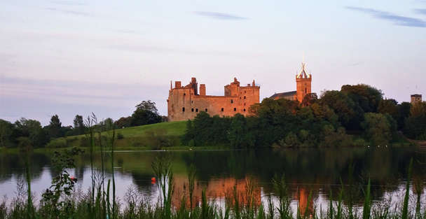 Linlithgow Palace in scotland used for wentworth prison in outlander tour