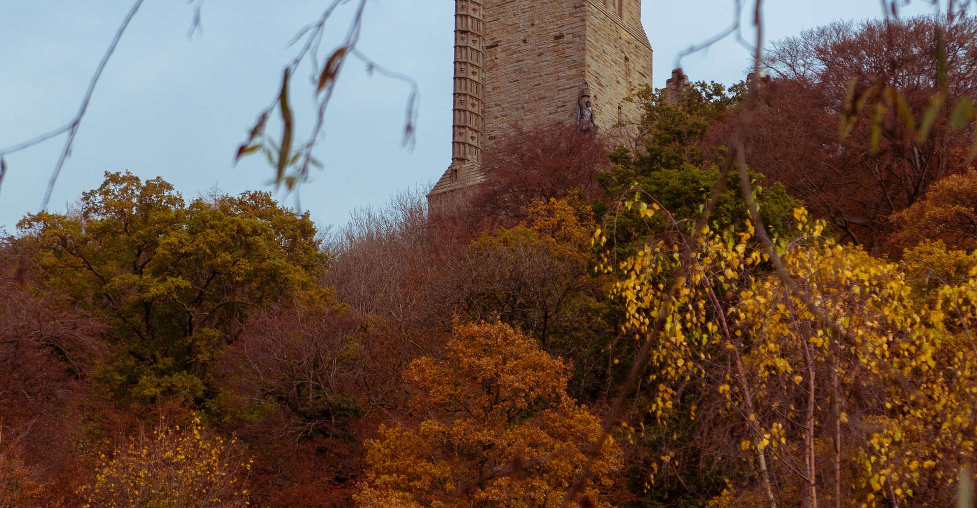 National Wallace Monument in stirling, scotland