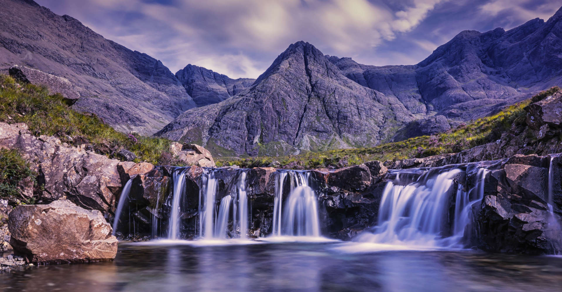 luxury tour to the Fairy Pools, Isle of Skye, Scotland
