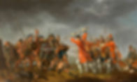 The Battle of Culloden painted by David Morier seen on history of scotland tour