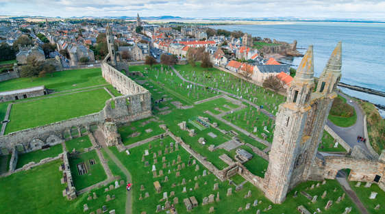 A View of the City of St. Andrews in Scotland