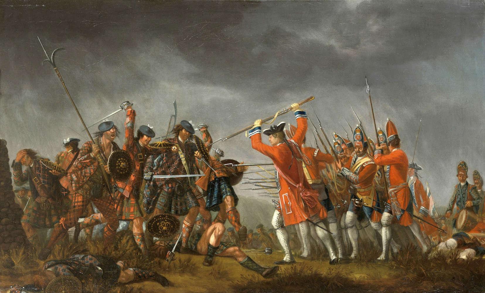 The Battle of Culloden, David Morier