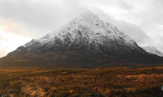 Buachille Etive Mor, Glencoe with snow on top