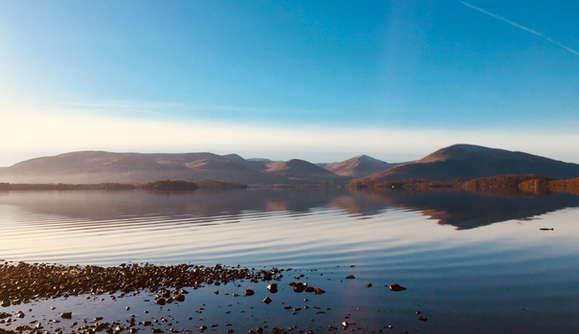 Loch lomond viewed from Millarochy Bay