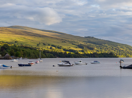 Loch Tay from Kenmore in scotland