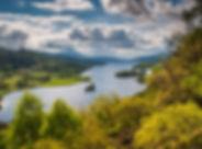 Queen's View over Loch Tummel & Shiehall