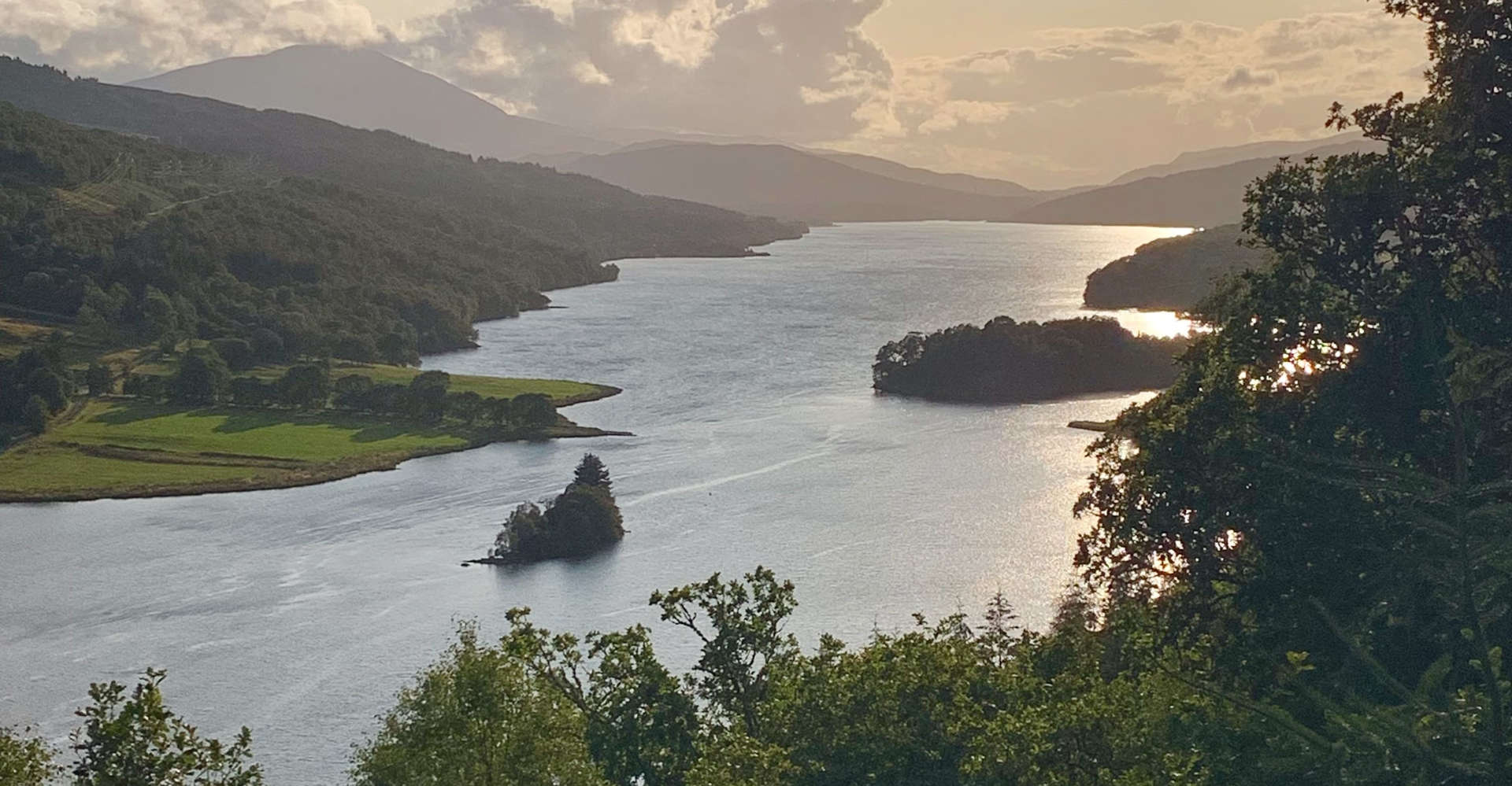 The Queen's View, Loch Tummel & Shiehallion in scotland