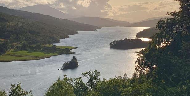The Queen's View, Loch Tummel & Shiehallion in scotland