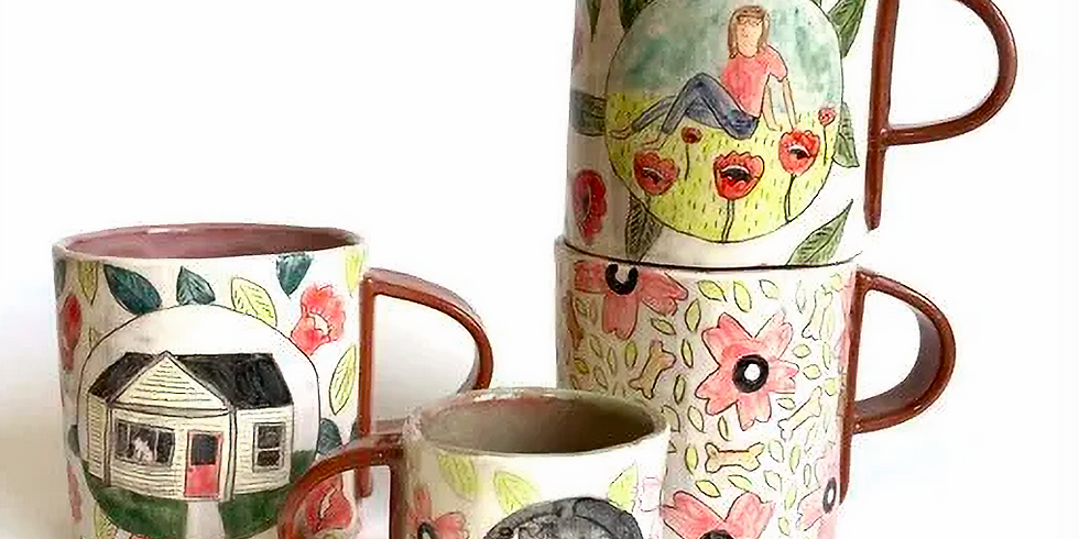 Molly Anne Bishop - The Illustrated Pot
