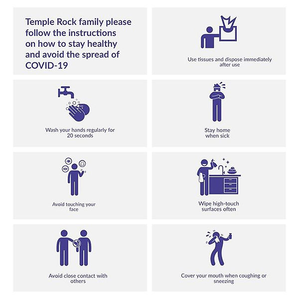 Temple Rock family please follow the ins