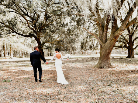 Intimate Backyard Florida Wedding
