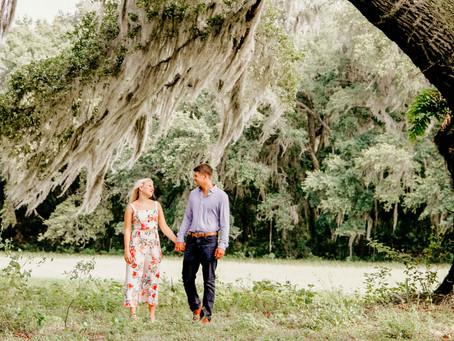 Engagement Photos on the Family Farm | Dunnellon, Florida | Savannah + Tyler