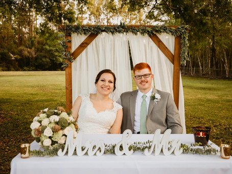 Kristin + Michael | Beautiful March Wedding