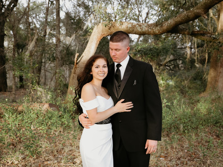 Intimate Outdoor Wedding in North Florida   Nenah + Andy