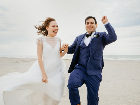 Rain on Your Wedding Day | Loida + Jonathan Clearwater Beach Wedding