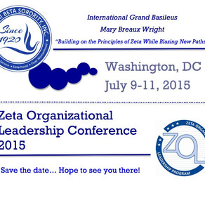 Save the Date for ZOL 2015