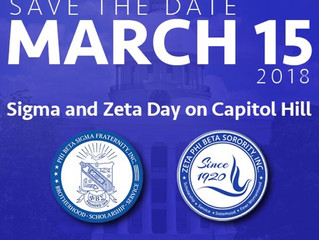 Sigma & Zeta Day on Capitol Hill