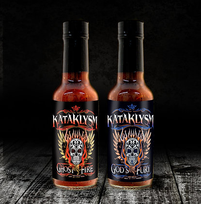 Ghost Fire & God's Fury Hot Sauces