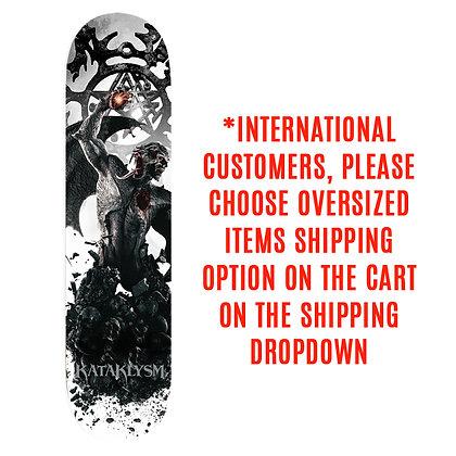 """Exclusive Collector KATAKLYSM """"UNCONQUERED"""" Skateboard DECK"""