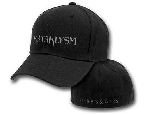 Of Ghosts and Gods Flexfit Embroidery Black Cap Limited Edition