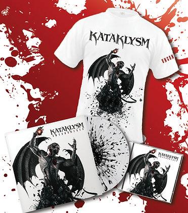 UNCONQUERED *New Album* Exclusive Collector T-Shirt/CD/VINYL Bundle