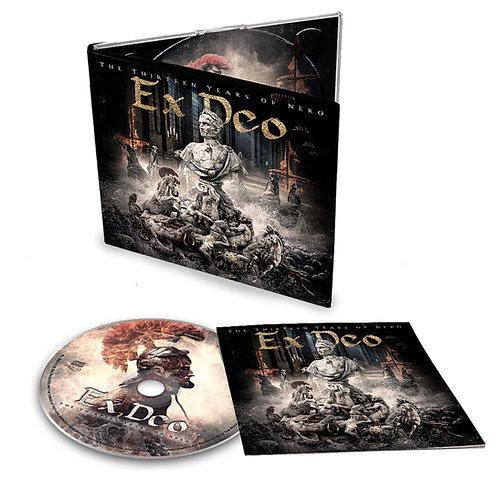 """EX DEO *NEW ALBUM*  """"The Thirteen Years of Nero"""" Digipak CD"""