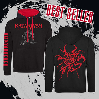 Unconquered Beast Red-Black Pullover