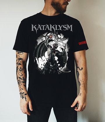 Black UNCONQUERED *New Album* Exclusive T-Shirt with Shoulder Print